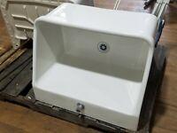 "28"" Kohler K-12793 Hollister Utility Sink Kitchen Farm Bracket Mounted CAN SHIP"
