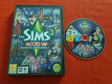 LES SIMS 3 ACCES VIP DISQUE ADDITIONNEL ADD-ON MAC PC DVD-ROM EN BOITE VF