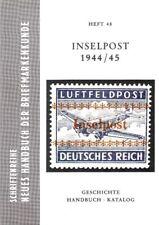 Inselpost 1944/45 Duits Rijk German Reich Deutsches veldpost Feldpost field post