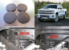 Set of 4 Rear Wheel Well Frame Plug Covers For 2001-2018 Silverado Sierra 2500HD
