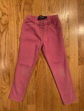 mini boden 5y girls pink pants legging jeans