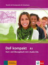 Klett DAF Kompakt A1 Kurs-und ubungsbuch mit 2 Audio CD tedesco per gli adulti @NEW