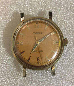 TIMEX Viscount 1959 Men's Self Wind Wristwatch Great Britain (Working)