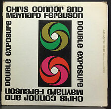 Chris Connor Maynard Ferguson Double Exposure LP VG+ 8049 Atlantic Mono USA 1961