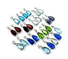 Gems Silver Plated 26 Pcs Pendant Aaa Blue Tanzanite & Multi Quartz