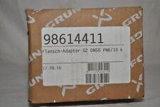 GRUNDFOS 98614411-Flangia Adattatore pezzo di compensazione frase a20 g2xdn50 2x20 NUOVO