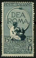 Italia Regno 1911 Sass. 95 Nuovo * 60%