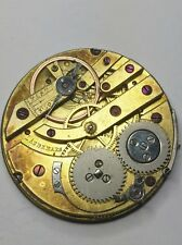 Rare Pocket watch Movement by Louis Audemars For Repair - Low S/N