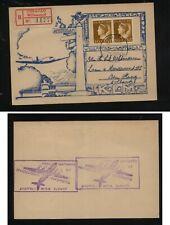 Curacao   airmail  postal  card       MS0225