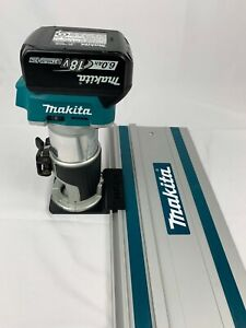 Makita DRT50Z, RT0700CX Router Adapter To Makita Track Guide Rail