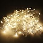 10m 100 LED Hada Cadena de Luces Boda Navidad Árbol Fiesta Exterior/INTERIOR