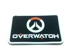 Over watch Emblem Black PVC Airsoft Cosplay Patch