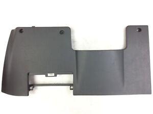92-95 Civic Cover Left Instrument Lower Trim Tray Garnish Dash Lid Gray OEM