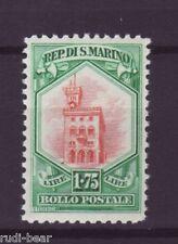 San Marino Nr.   155  ** Nationale Symbole  Regierungspalast