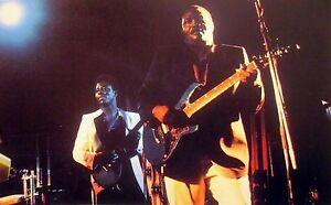 FRANCO LUAMBO color clipping African thumba fusion photo OK Jazz guitar 1980s