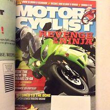 Motor Cyclist Magazine Kawasaki ZX , Jack Lewis January 2009 061417nonrh2