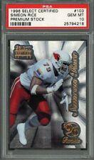 1996 select certified premium stock #103 SIMEON RICE cardinals rookie PSA 10
