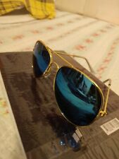 Ray ban sunglasses Men mirror Blue