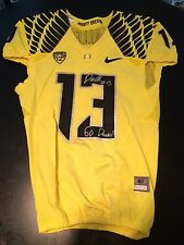 Oregon Ducks Game Jersey Devon Allen