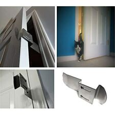TheDoorLatch Adjustable Latch. Keeps Dogs Out Of Litter. Holds Open For Cats.