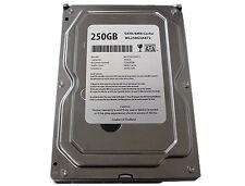 "New 250GB 8MB Cache 5400RPM SATA 3.0GB/s 3.5"" Desktop Hard Drive -FREE SHIPPING"