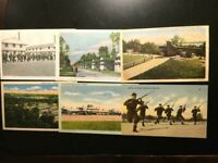 6-Vintage 4 Postcard WW11 Post Cards lot, FREE SHIPPING