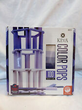 New NIB MindWare KEVA Color Pops Purple, 100 Wooden Planks