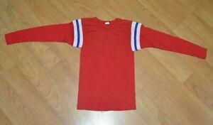 Vintage OG Blank Patriots Long Sleeve Football Jersey Youth 2T Boston NE