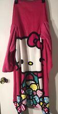 Hello Kitty Fleece Blanket Wearable With Arms Northwest 47 X 56 In