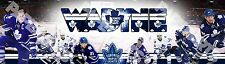 """Toronto Maple Leafs Poster Banner 30"""" x 8.5"""" Personalized Custom Name Printing"""