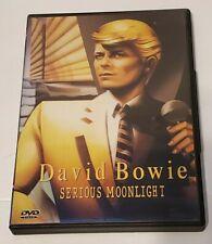 VINTAGE David Bowie - Serious Moonlight (DVD, 1999) MUSIC