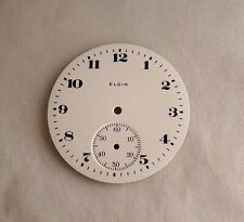 POCKET WATCH EXCELLENT CONDITION DIAL ELGIN SIZE 12s