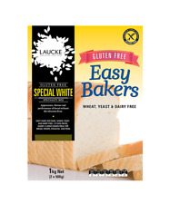 Easy Bakers Gluten Free Bread Mix Baking Mix 1kg Wheat Yeast & Dairy Free