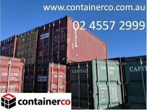 Shipping Container Located in Windsor NSW 20FT Solid 2nd Hand Inspect at Windsor