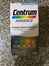 180 Centrum Advance Multivitamin Food Supplement Tablets