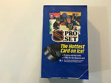 NHL Pro Set Series I Official Trading Cards 1990 Factory Sealed Box Series 1