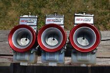 Dragbike H1 H2 500 750 Set (3) Fresh 38mm Lectron Carburetors NICE Kawasaki Race
