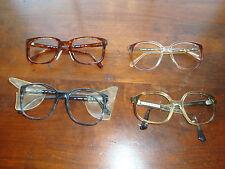 597455a36b Vintage 80s Z87 Plastic Safety Eyeglass Frames Retro ArtCraft Titmus