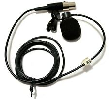 Shure Clip-On Cable Wired Microphone + Carrying Case