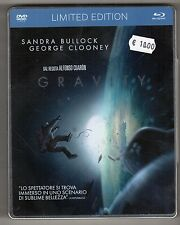 Blu-ray + dvd GRAVITY Sandra BULLOCK George CLOONEY Limited Edition