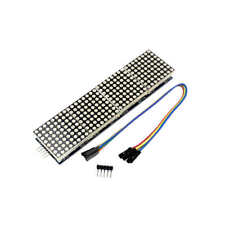MAX7219 Microcontroller 4 In 1 Display LED Dot Matrix Module for Arduino M375