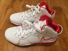 Nike Lebron VIII Sport Red White 417098 102 Size 9