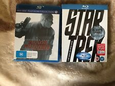 Blu Ray dvd Star Trek and Blade Runner The Final Cut Good condition