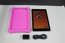 Amazon Fire HD 8 Kids Edition 8in. 32GB (7th Generation) Pink, SX034QT, Great!