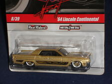 Hot Wheels 2010 Wayne's Garage 8 / 39  '64 Lincoln Continental  Gold