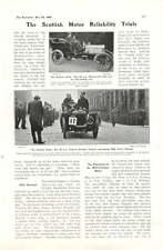 1905 Scottish Motor Reliability Trials Glasgow Edinburgh