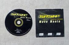 "CD AUDIO MUSIQUE / SASH! FEATURING SHANNON ""MOVE MANIA"" CDS 2T 1998 BB 039813-3"