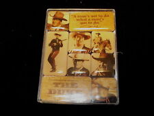 "JOHN WAYNE ""THE DUKE"" ""A MAN'S GOT TO DO WHAT A MAN'S GOT TO DO"" MAGNET SET"
