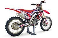 RISK RACING LOCK N LOAD PRO MINI STRAPLESS MOTOCROSS ENDURO VAN BIKE STAND MX