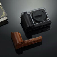 AYdgcam Real Leather Camera Body Half Case For Hasselblad X1D II 50C X1D2 X1DII